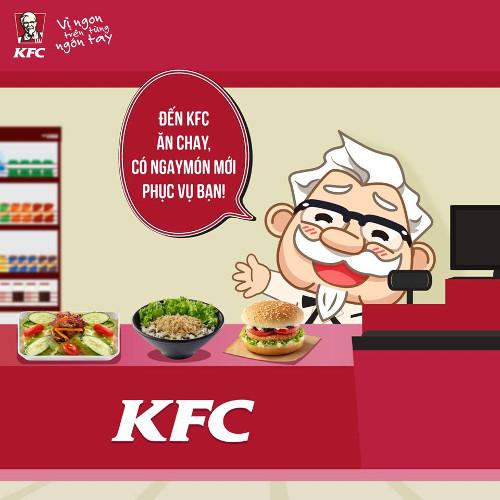 KFC bán 'gà chay' tại tất cả tiệm ở Việt Nam