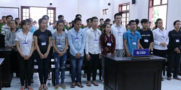 CSVN kết án tù 15 người biểu tình chống luật đặc khu ở Biên Hòa