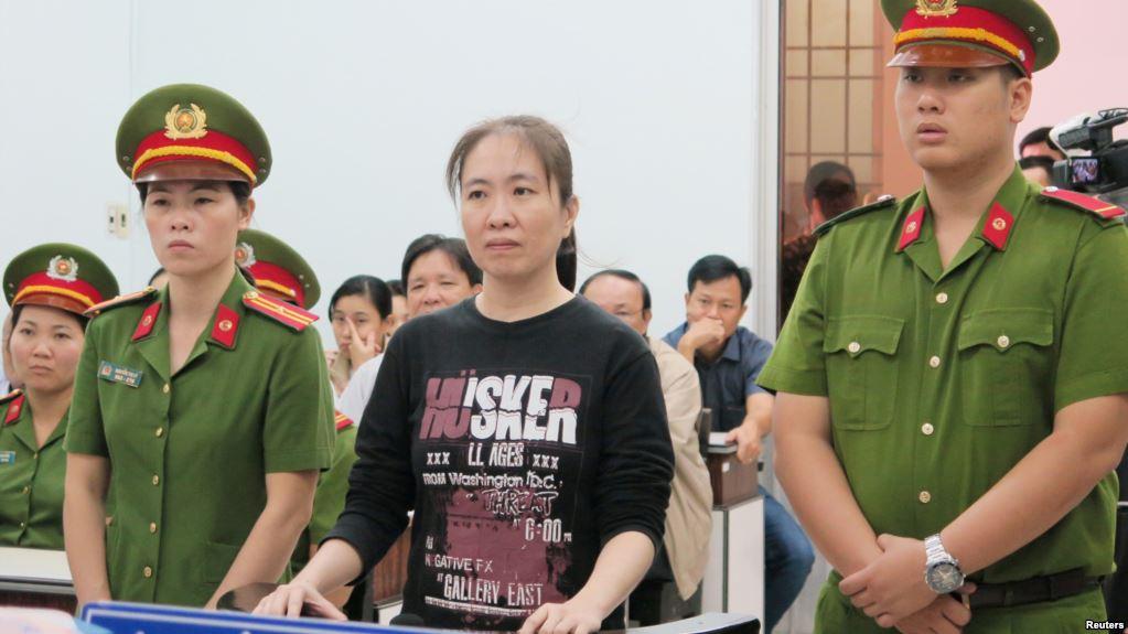 Blogger Mẹ Nấm tiếp tục tuyệt thực trong tù