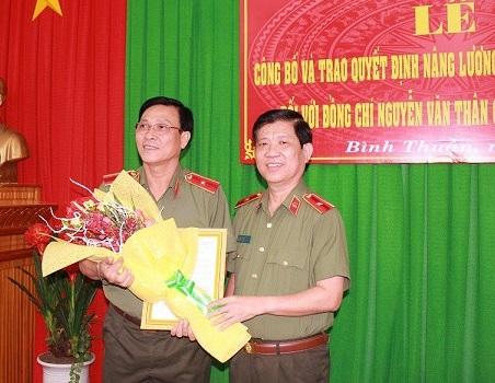 Giám đốc công an Bình Thuận được sang Đức 'du học' trước khi về hưu