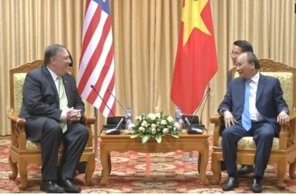 Ngoại Trưởng Hoa Kỳ Pompeo nêu vụ Will Nguyễn với Hà Nội