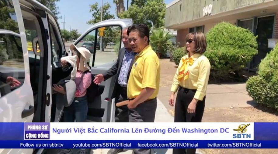 Phái đoàn người Việt Bắc Cali lên đường đến Washington DC