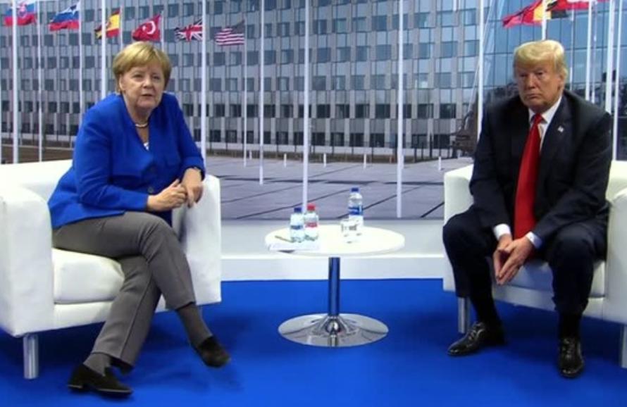 Tổng Thống Donald Trump khai mạc hội nghị thượng đỉnh NATO bằng bài diễn văn chỉ trích nước Đức