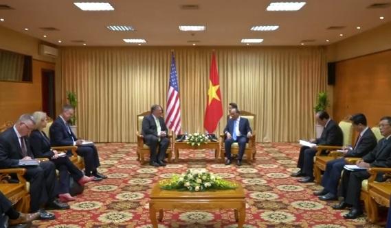 Mỹ-Việt hợp tác tự do hàng hải trong vùng Biển Đông tranh chấp
