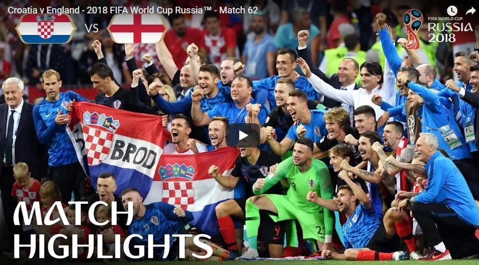 Croatia lọt vào chung kết World Cup 2018, thủ đô Zagreb mừng chiến thắng