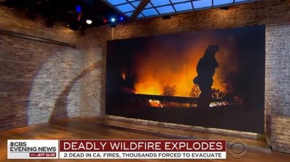 Cháy rừng hoành hành ở Bắc Cali, một lính cứu hỏa thiệt mạng