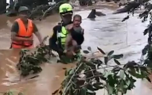 Vỡ đập thủy điện ở Lào, ít nhất 31 người thiệt mạng