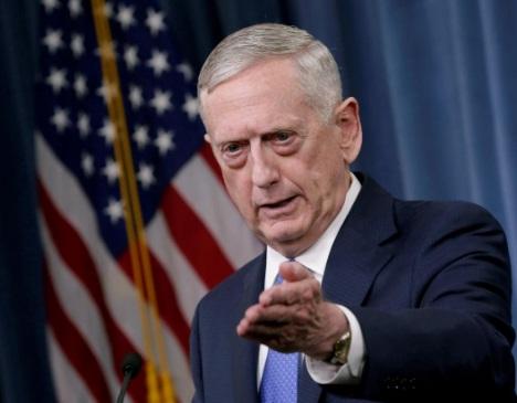 Bộ trưởng Jim Mattis: Hoa Kỳ không có ý định thay đổi chế độ ở Iran
