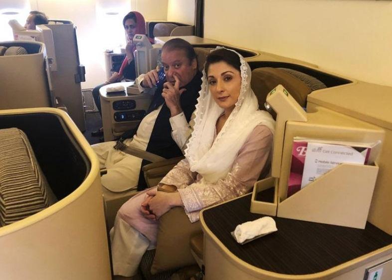 Cựu thủ tướng Pakistan Nawaz Sharif bị bắt khi trở về nước