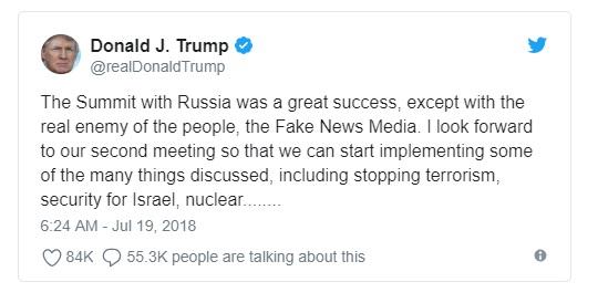 Tổng thống Trump mời tổng thống Nga Putin thăm Washington DC