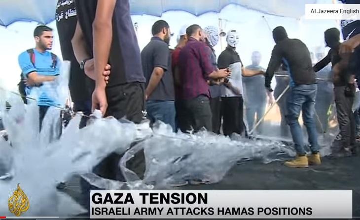 Bom nổ rung chuyển Gaza sau khi một binh sĩ Israel bị dân quân Palestine bắn chết