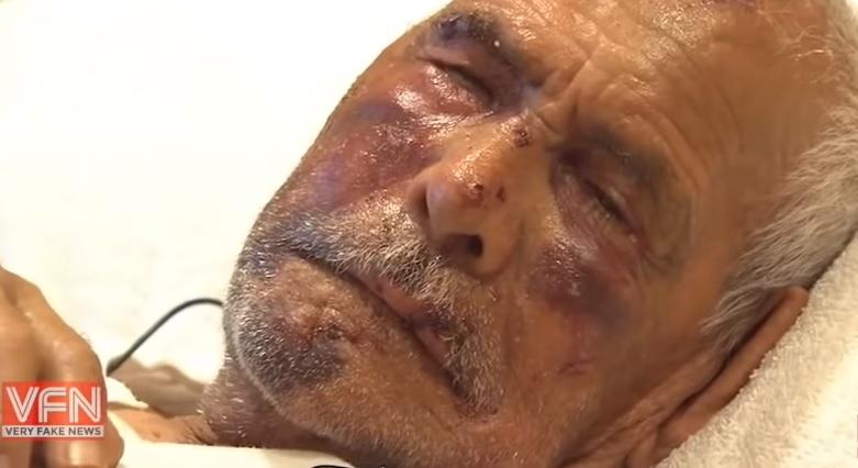 Phụ nữ đánh ông già Mexico 91 tuổi bằng gạch, bảo ông trở về Mexico