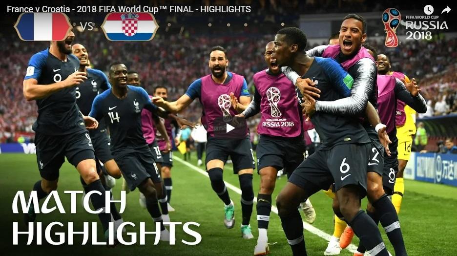 Kết thúc World Cup 2018: Pháp lên ngôi hoàng đế lần thứ nhì hoàn toàn xứng đáng