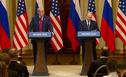 Chính khách lưỡng đảng phản đối mạnh tuyên bố của Tổng thống Trump trong cuộc họp báo sau hội nghị  Helsinki