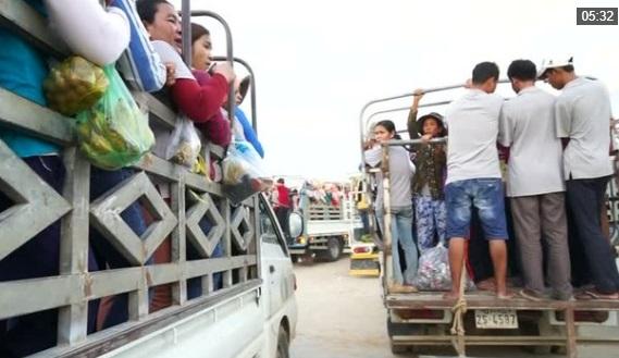 Công nhân Cam Bốt không quan tâm chính trị, chỉ mong con cái có cuộc sống tốt đẹp
