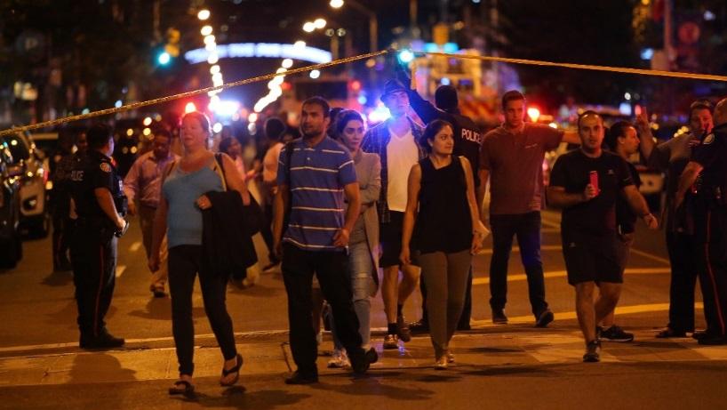 Nổ súng tại Toronro ít nhất 2 người thiệt mạng