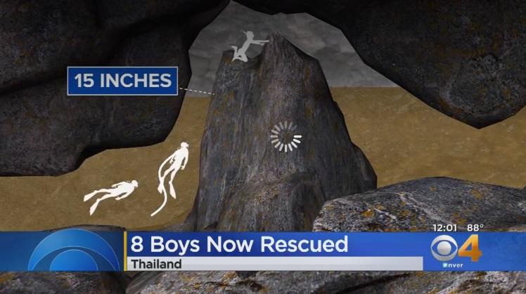 Công ty kỹ thuật Mỹ ở Denver giúp giải cứu đội túc cầu trẻ Thái Lan