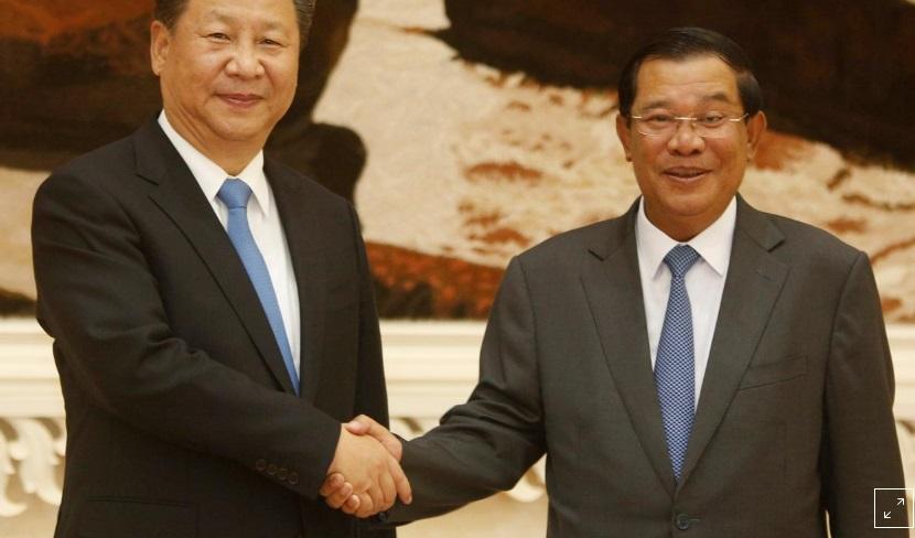 Trung Cộng tìm mọi cách giúp ông Hun Sen đắc cử