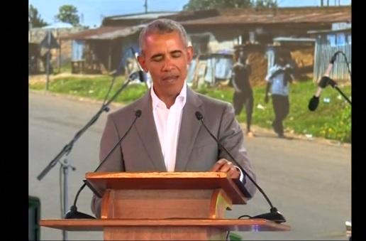 Cựu tổng thống Obama đọc diễn văn mừng sinh nhật cố tổng thống Nam Phi Nelson Mandela