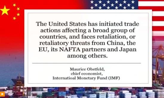 Trung Cộng đang tiến hành một cuộc chiến tranh lạnh thương mại chống lại Hoa Kỳ