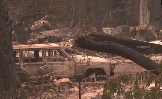 Trận cháy rừng Carr Fire California đã được dập tắt