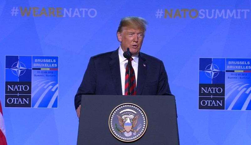 Tổng thống Trump tự ca ngợi cá nhân sau khi buộc NATO đàm phán về chi tiêu quốc phòng