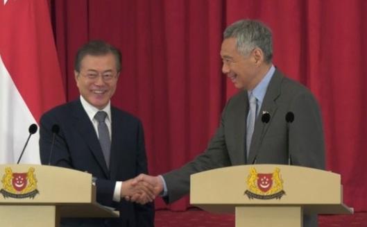Tổng thống Nam Hàn kêu gọi ASEAN ủng hộ tiến trình hòa bình Triều Tiên