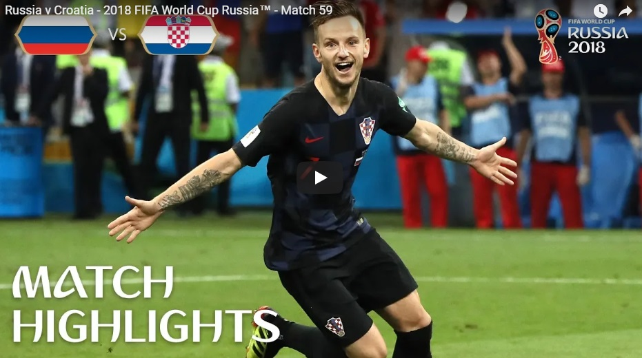 Tin nhanh World Cup 2018 ngày 7 tháng 7