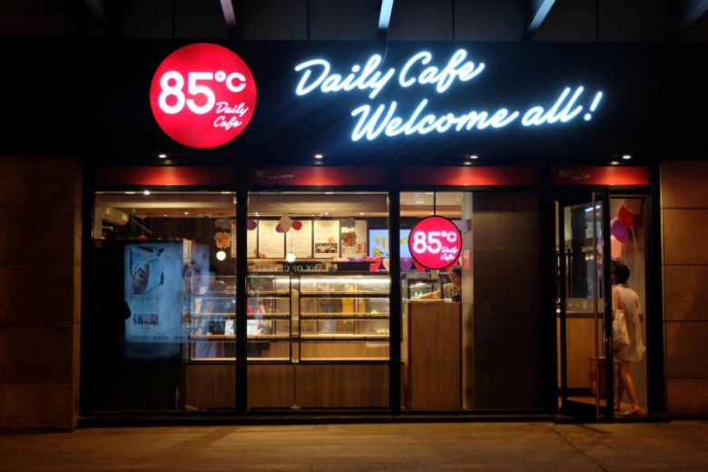 Tên cửa hàng 85oC biến mất trên các app ẩm thực của Trung Cộng