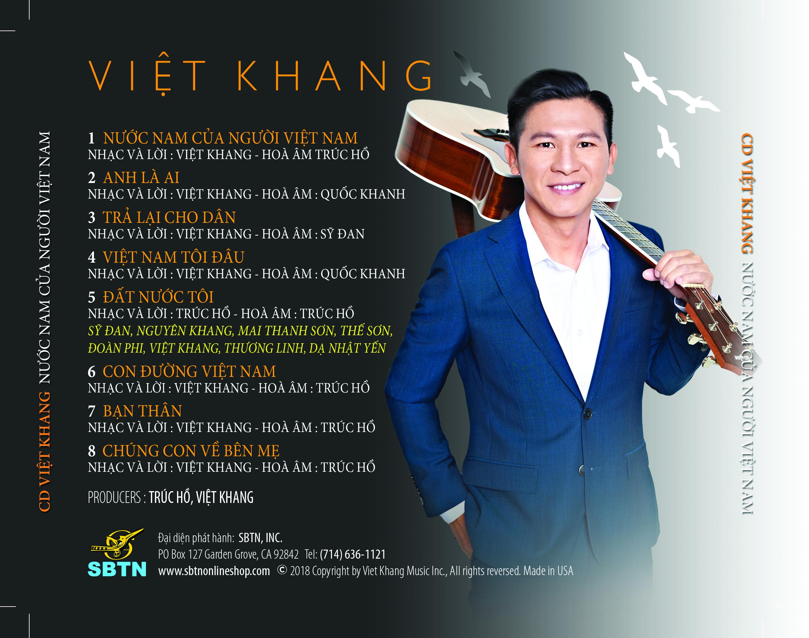 Đài Truyền Hình SBTN phát hành bộ DVD Đất Nước Tôi và CD Việt Khang