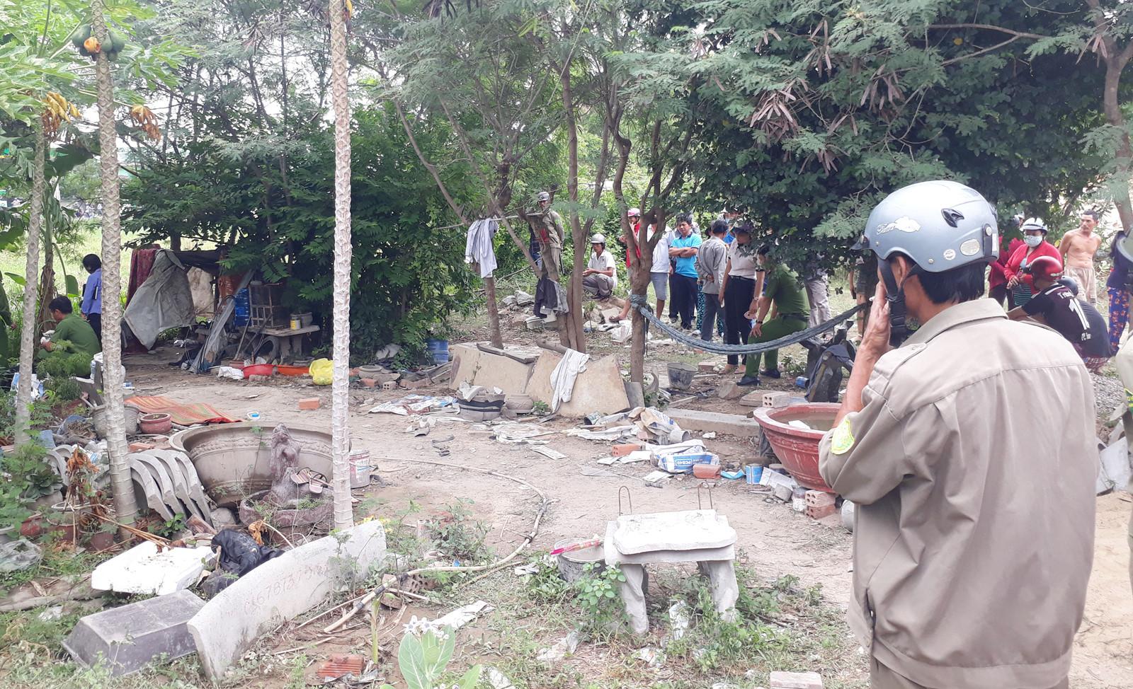 Bắt nghi can giết bé gái bỏ vào chậu kiểng ở Ninh Thuận