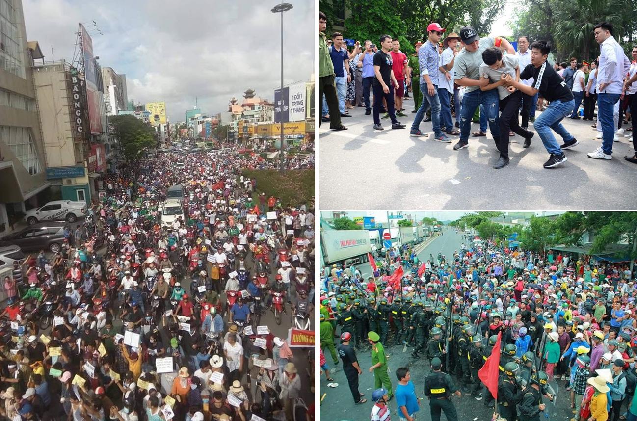 5 tổ chức xã hội dân sự Việt Nam ra tuyên bố về việc kết án người biểu tình