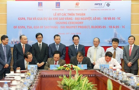 Nhật Bản giúp Việt Nam khai thác khí đốt ở Biển Đông