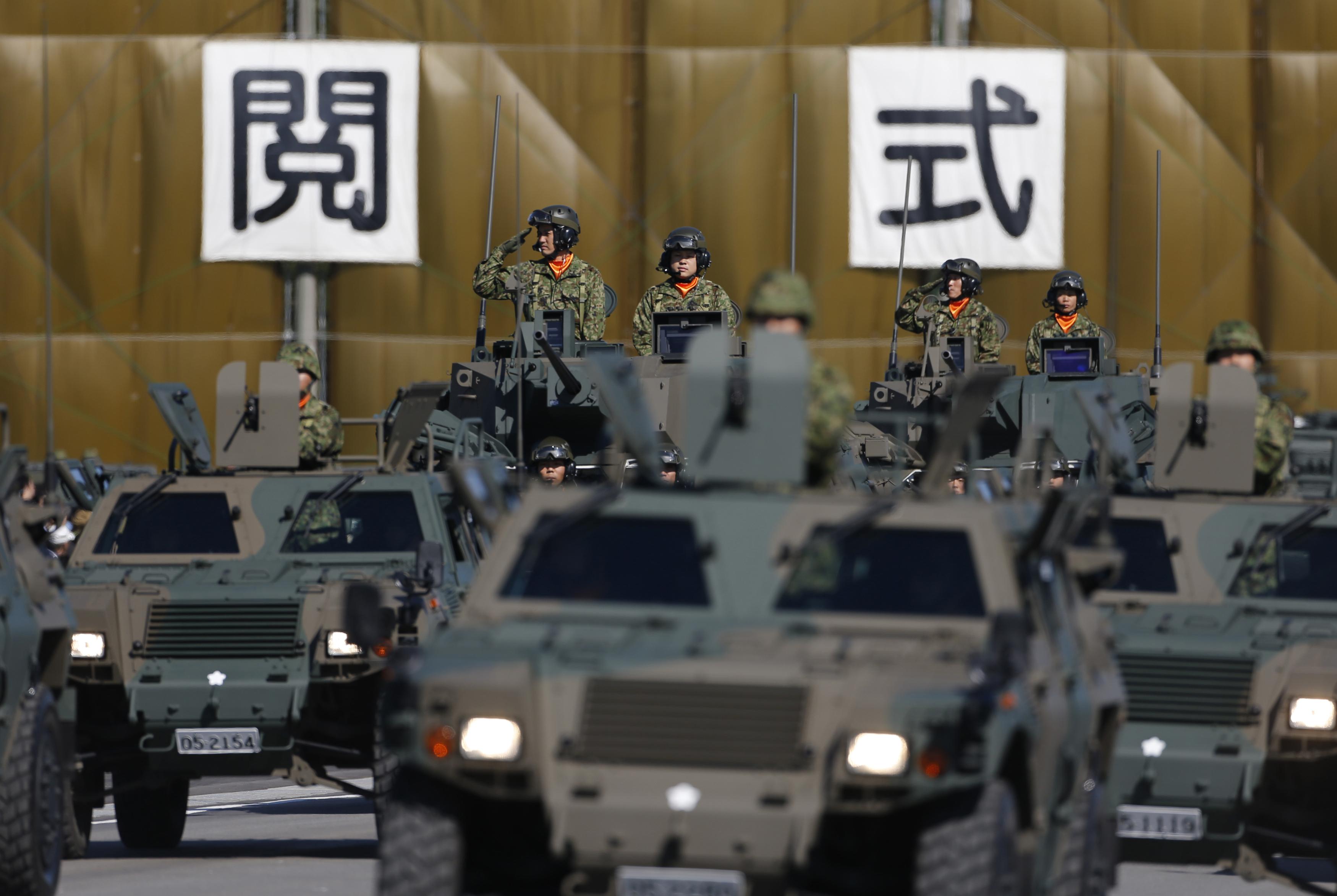 Nhật đề nghị ngân sách quốc phòng cao kỷ lục để đối phó Bắc Hàn, Trung Cộng