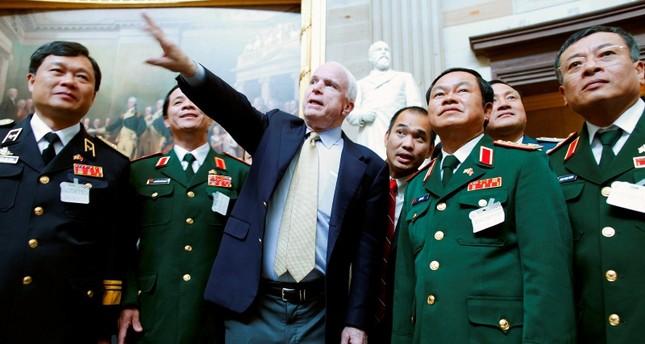 TNS John Mccain từng nêu điều kiện để Việt Nam trở thành đối tác chiến lược của Mỹ