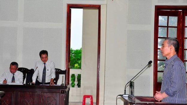 Ông Lê Đình Lượng bị tuyên án 20 năm tù, mức án cao nhất đối với một nhà hoạt động