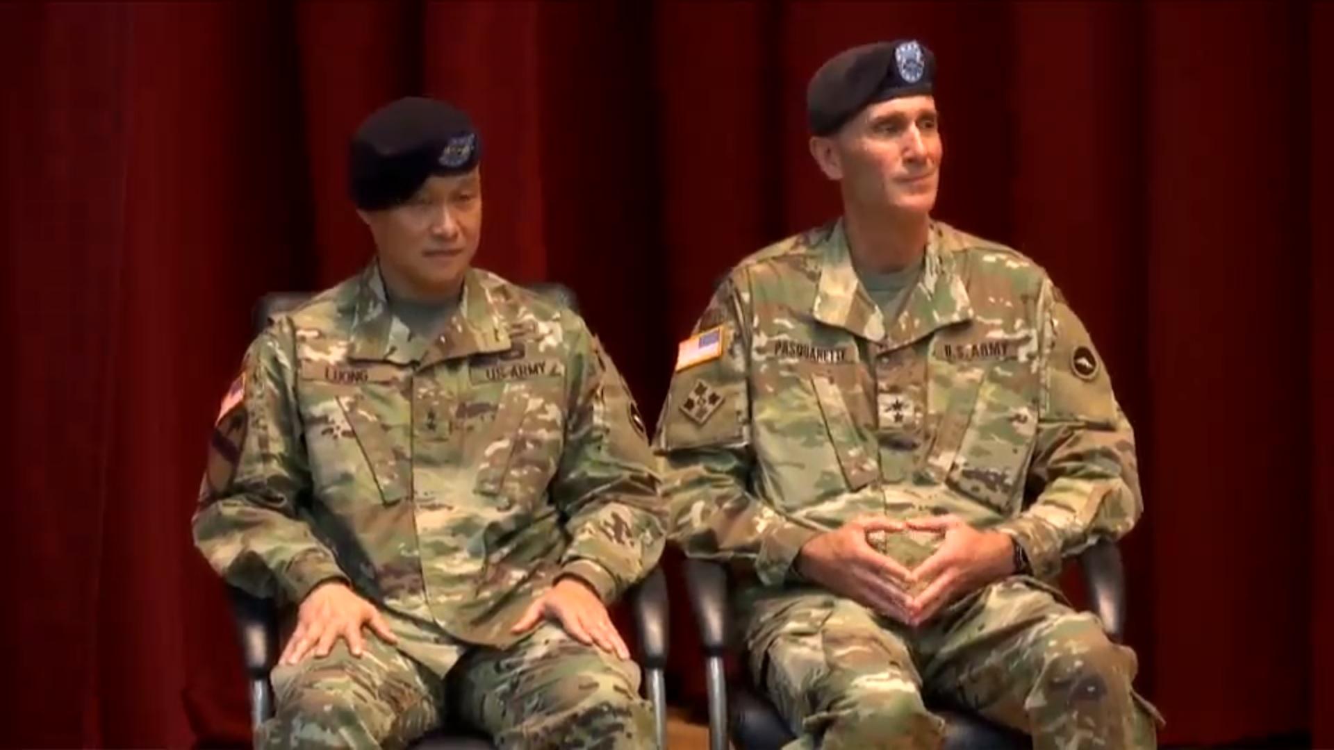 Tướng Lương Xuân Việt nhận chức Tư Lệnh Lục Quân Hoa Kỳ tại Nhật Bản