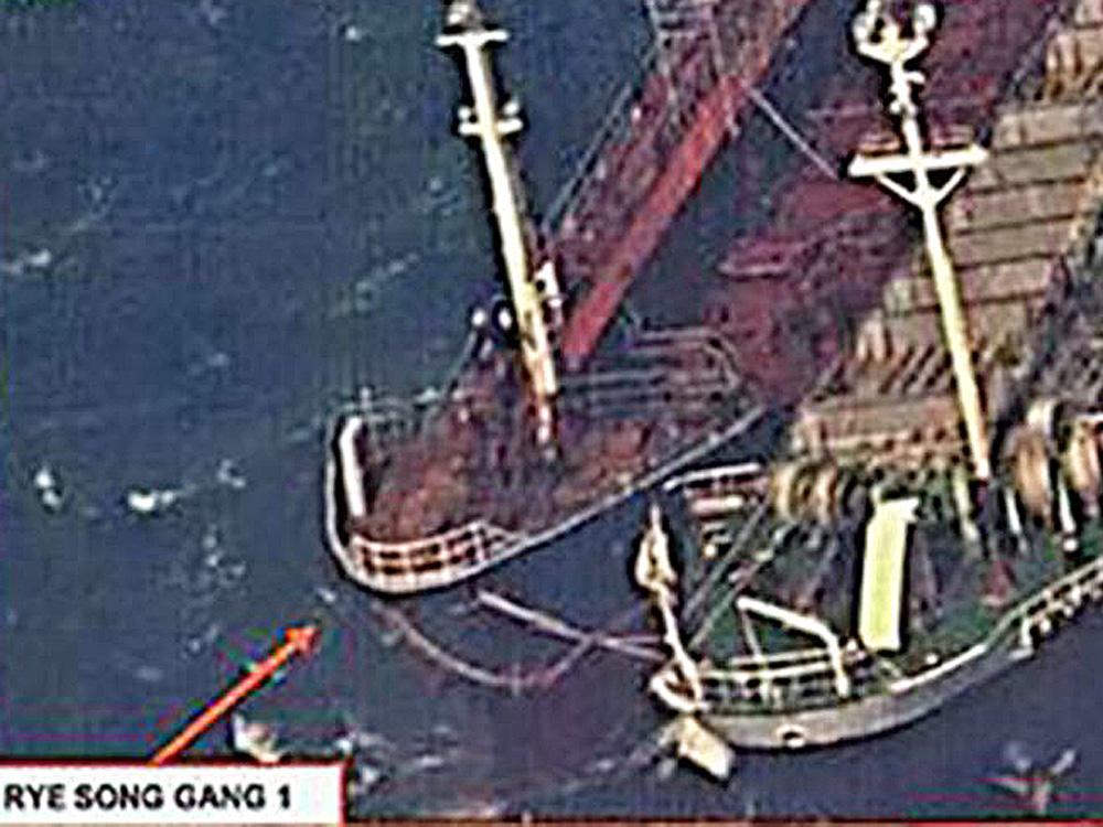 Nhật và Anh cùng hợp tác theo dõi việc trao đổi hàng hóa lậu trên biển Bắc Hàn