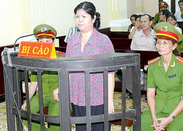 Tù nhân lương tâm Trần Thị Thúy mãn án tù 8 năm