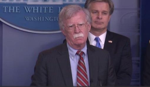 Cố vấn an ninh quốc gia John Bolton gặp đại sứ Thổ Nhĩ Kỳ thảo luận về mục sư người Mỹ đang bị giam