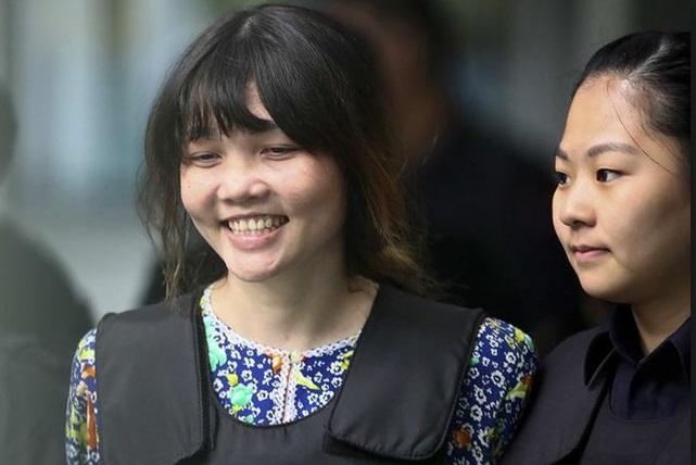 Đoàn Thị Hương có cơ may được tòa Malaysia tuyên trắng án ngay ngày mai