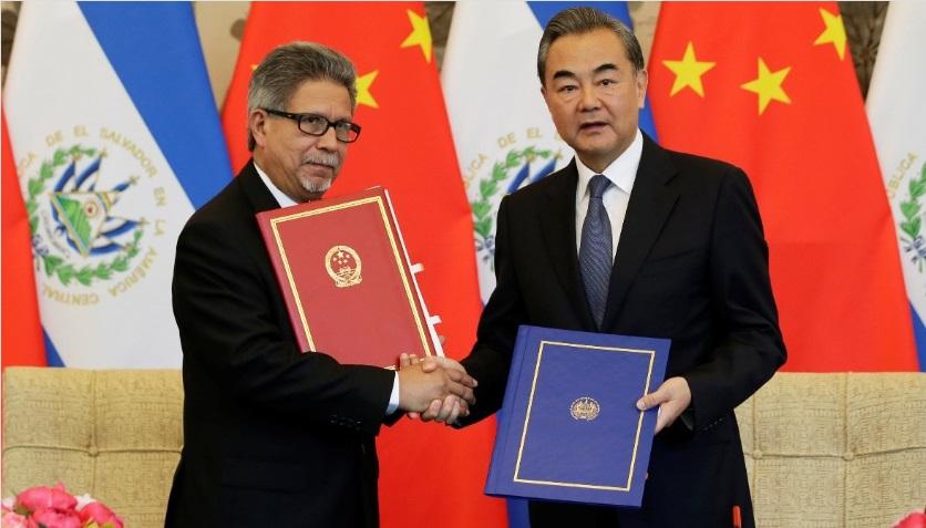 El Salvador đoạn giao với Đài Loan, bắt tay với Trung Cộng