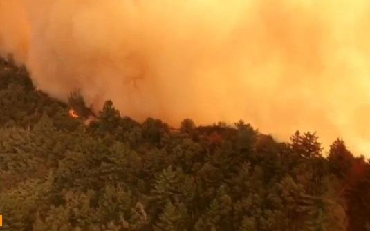 Trận cháy rừng Mendocino Complex Fires trở thành lớn nhất trong lịch sử California