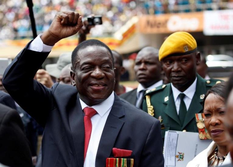 Ông Emmerson Mnangagwa đắc cử tổng thống Zimbabwe