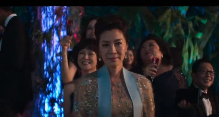 """Bộ phim """"Crazy Rich Asians"""" dẫn đầu doanh thu phòng vé Bắc Mỹ"""