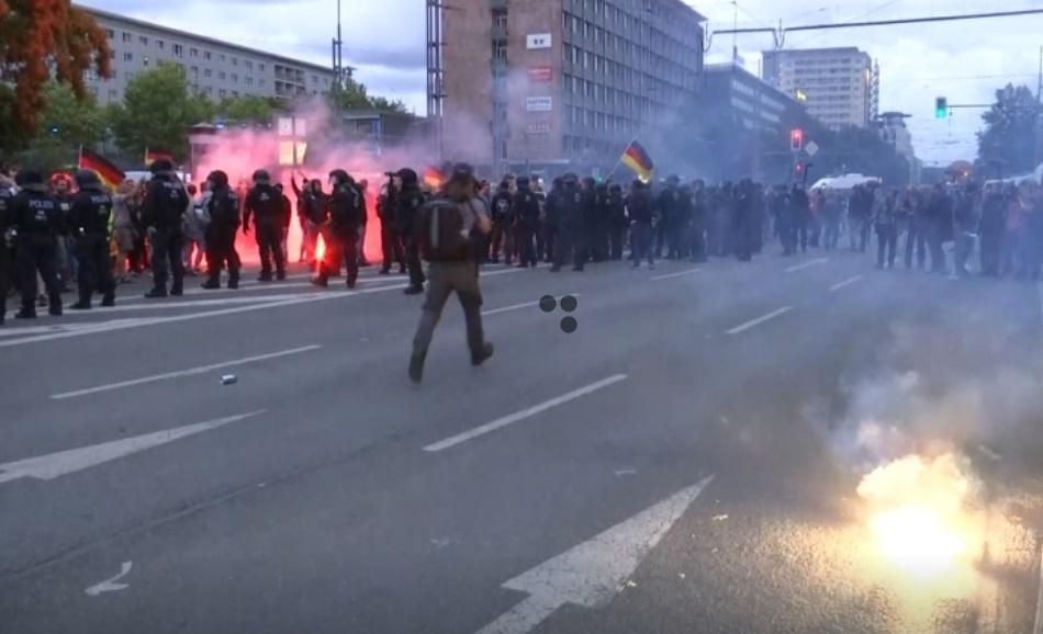 Bạo động lớn tại thành phố Chemnitz, Đức
