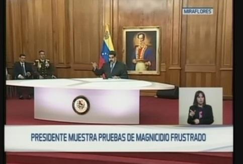 Tổng thống Venezuela truy lùng thủ phạm vụ tấn công bằng máy bay không người lái