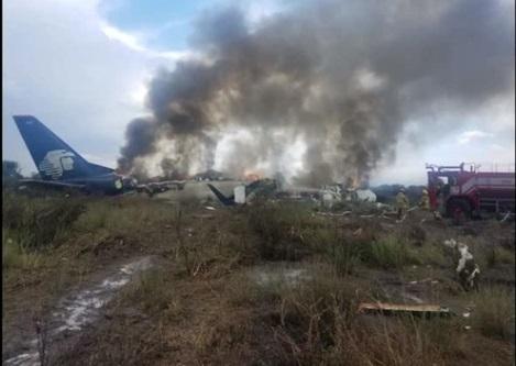 Tai nạn máy bay ở Mexico – 85 người bị thương