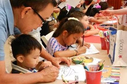 Trung Tâm Sinh Hoạt Cộng Đồng Chùa Điều Ngự mời tham dự cuộc thi vẽ Tết Trung Thu Của  Em