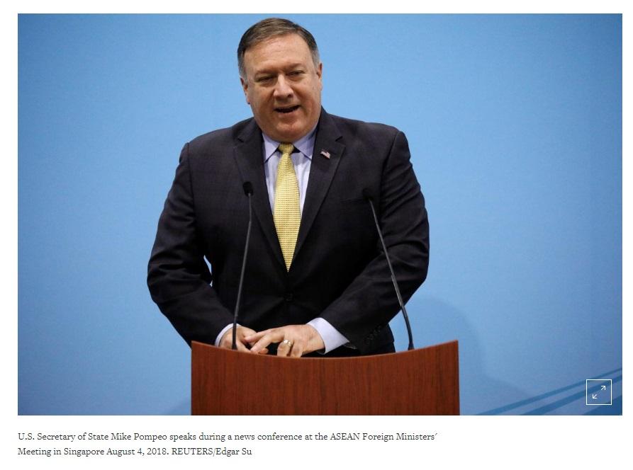 Ngoại Trưởng Hoa Kỳ Mike Pompeo đến Bắc Hàn cùng đặc phái viên mới